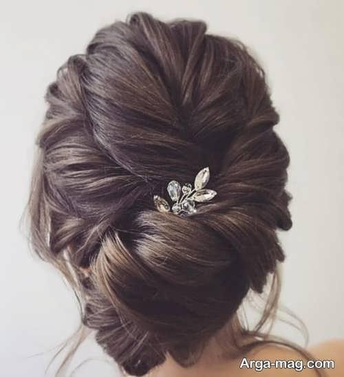 مدل موی جذاب و خاص عروس