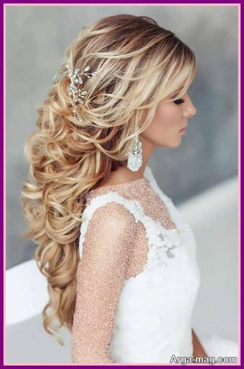 مدل موی عروس جدید و باز