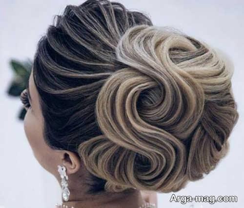 مدل موی خطی عروس