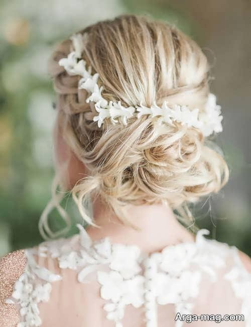 مدل مو بسته و جدید برای عروس