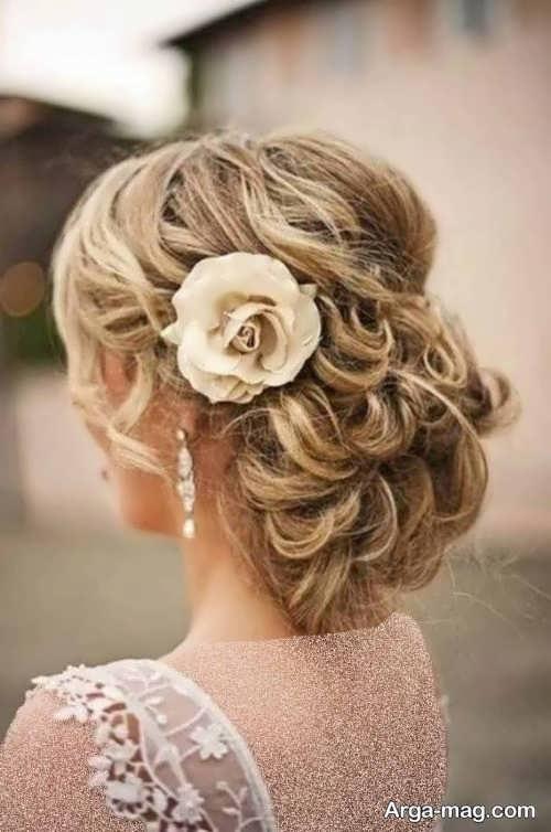 مدل مو فر بسته عروس