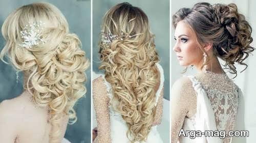 مدل مو باز برای عروس