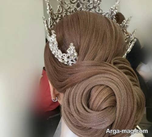 مدل موی زیبا و حرفه ای برای عروس
