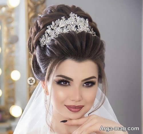 مدل موی عروس جدید و جذاب