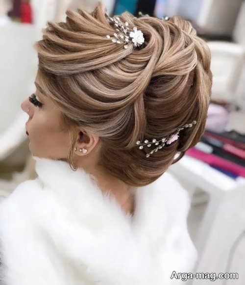 مدل موی بسته و جذاب عروس