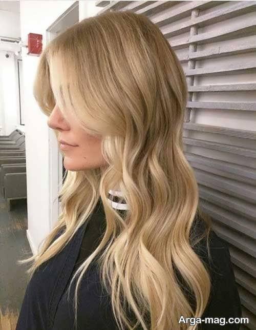 رنگ مو دودی زیتونی روشن