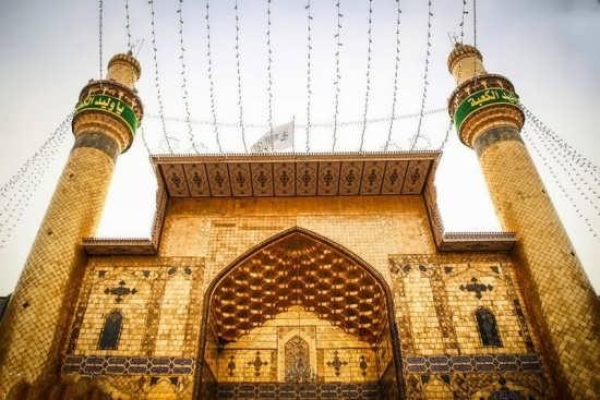 عکس زیبایی از حرم امیر المؤمنین