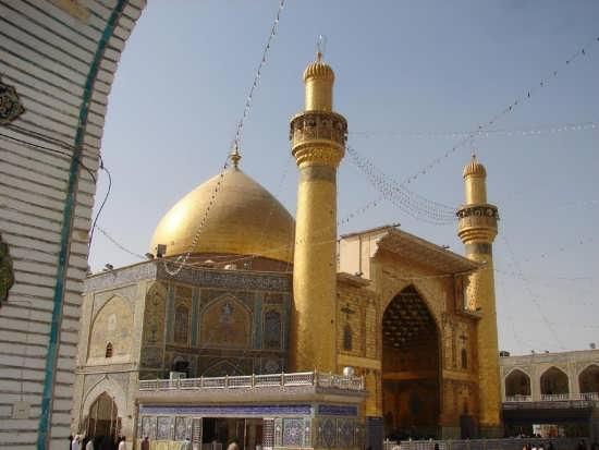 عکس حرم حضرت علی (ع)