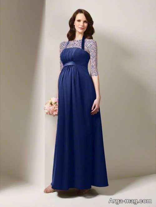 لباس بارداری زیبا و بلند