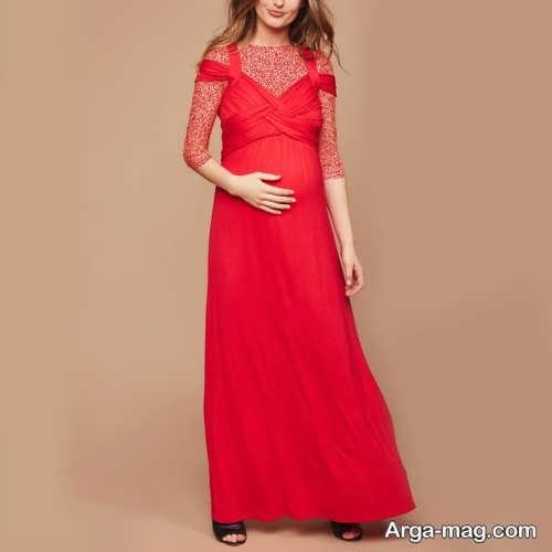 لباس بارداری بلند و شیک