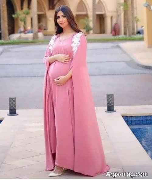 لباس بارداری شیک و بلند