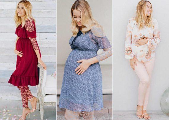 مدل لباس بارداری برای آتلیه