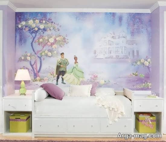 طراحی عالی اتاق پرنسسی