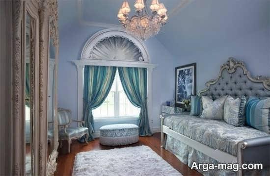 طرح پرنسسی اتاق دخترانه