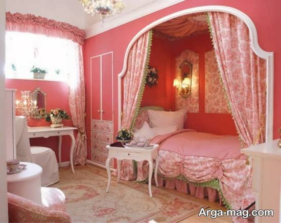 اتاق دخترانه پرنسسی