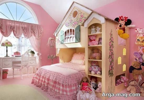 طراحی اتاق دخترانه پرنسسی