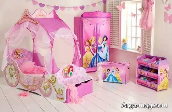 تزیین شیک اتاق دخترانه