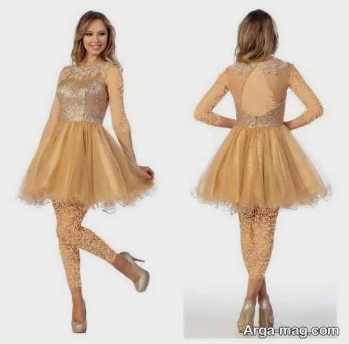 مدل لباس مجلسی زنانه پف دار