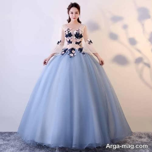 مدل لباس مجلسی شیک و پف دار