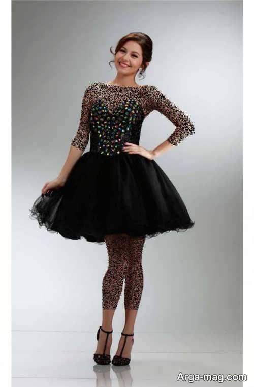 مدل لباس مجلسی پف دار کره ای