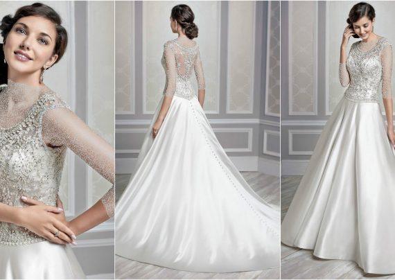 مدل لباس عروس سلطنتی