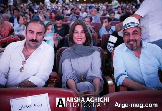 سارا بهرامی در اکران فیلم هزارپا