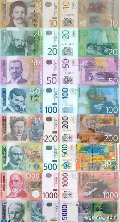 واحد پول در کشور صربستان