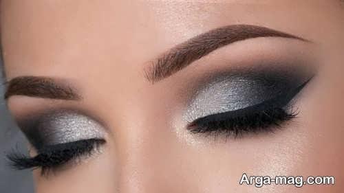 آرایش چشم شیک و زیبا زنانه