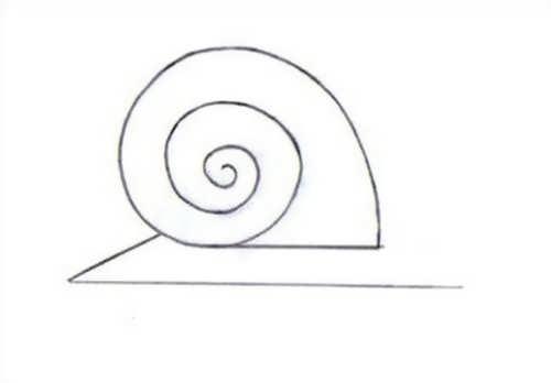 آموزش ساده برای کشیدن نقاشی حلزون