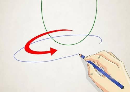 مراحل ساده برای کشیدن نقاشی حلزون