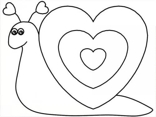 نقاشی فانتزی حلزون