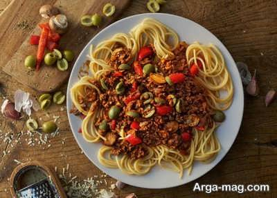 دستور تهیه اسپاگتی بلونز