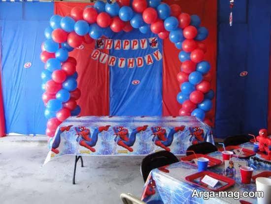 تزیین جذاب میز تولد