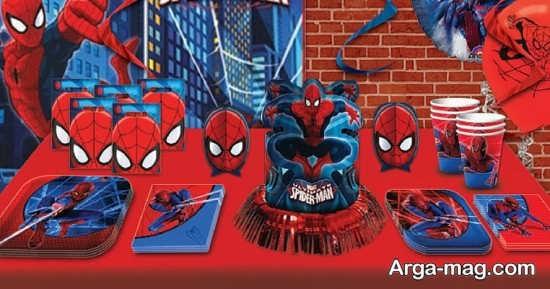 طراحی زیبا با تم مرد عنکبوتی