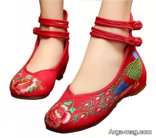 مدل کفش راحتی طرح دار
