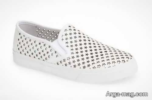 مدل کفش سفید دخترانه