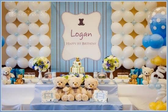 تزیین عالی جشن تولد با تم خرس تدی