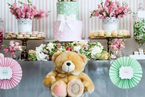 طراحی فوق العاده جشن تولد با تم خرس تدی
