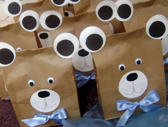 طراحی با تم متفاوت خرس تدی