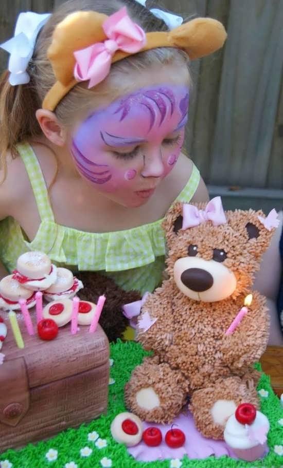 تزیینات تولد با خرس تدی
