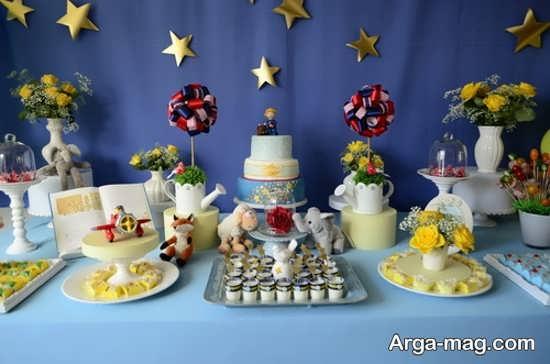 طراحی میز تولد