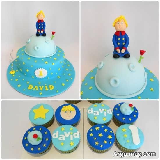 کیک زیبای تولد