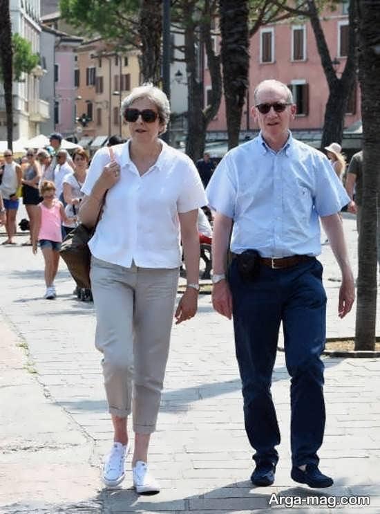نخست وزیر انگلیس و همسرش