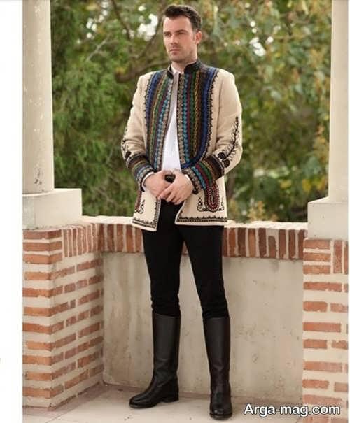 مدل لباس سنتی مردانه جدید و زیبا