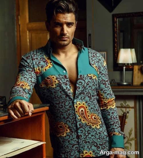 لباس طرح دار مردانه