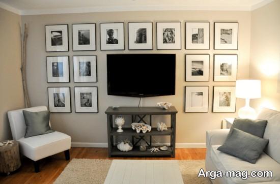 تزیین فوق العاده دیوار با عکس
