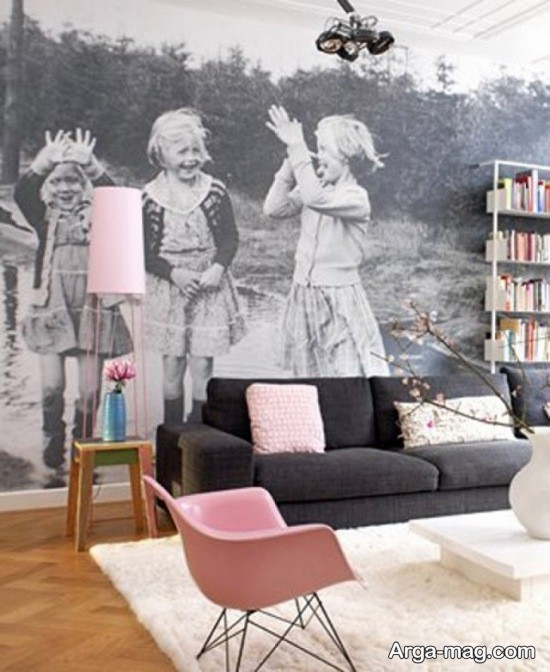 تزیین لاکچری دیوار با عکس