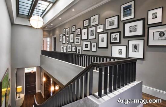 تزیین عالی دیوار با عکس