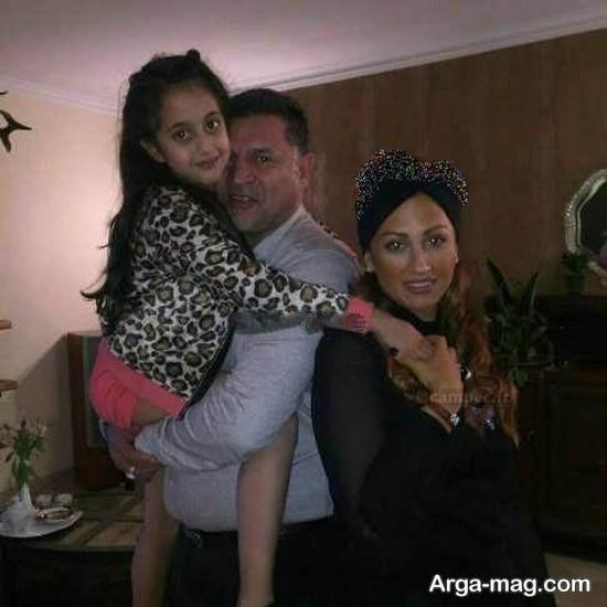 علی دایی و همسرش
