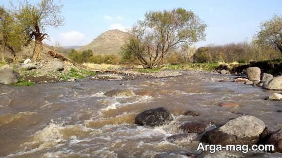 مکان های دیدنی آذرشهر و چشمه آب گرم